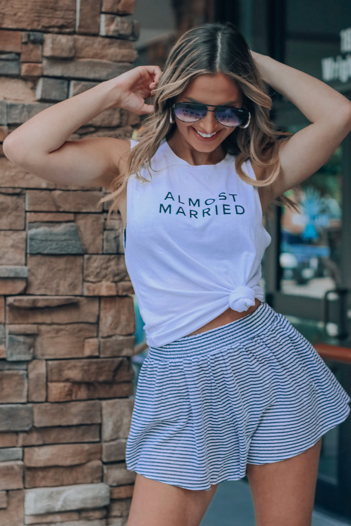 RESTOCKED: Almost Married Tank