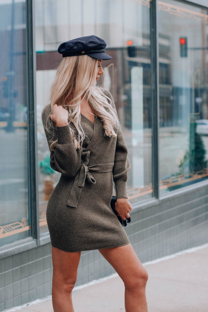 Mistletoe Kisses Sweater Dress