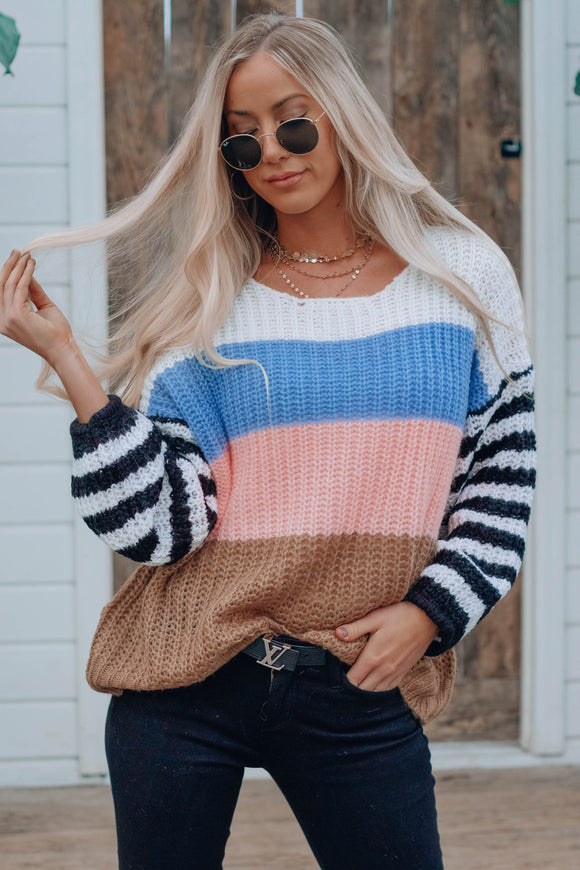 Maisie Stripe Sweater