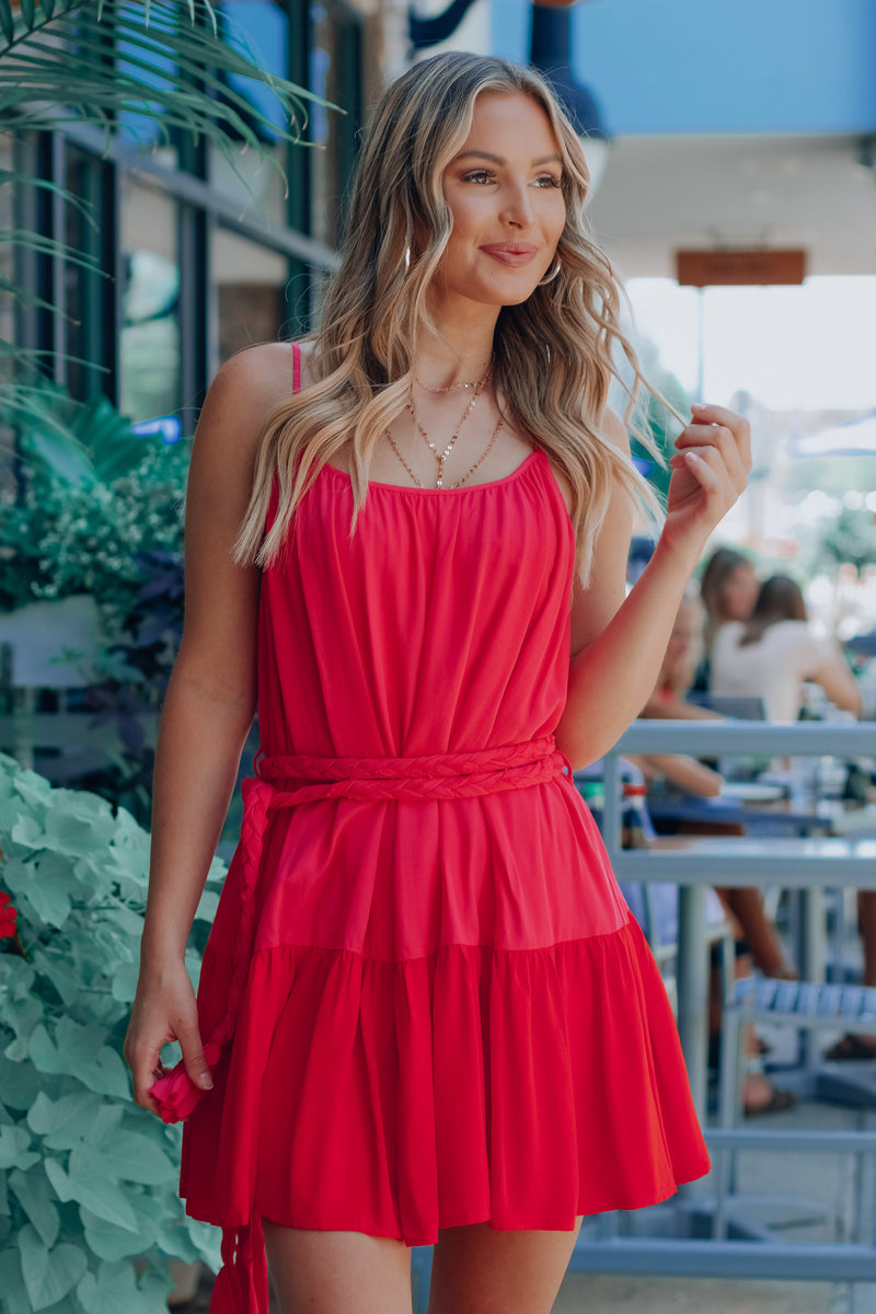 Wild Heart Flowy Dress