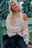 Ivory Stay Curious Sweater