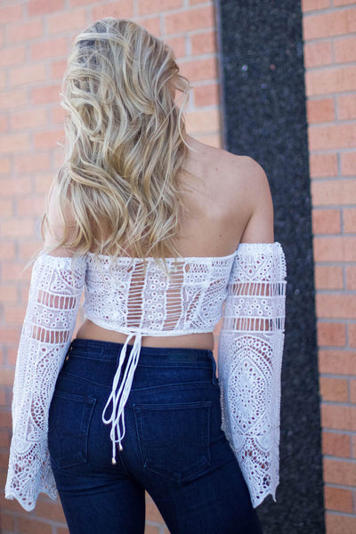 Now Until Forever Crop Top