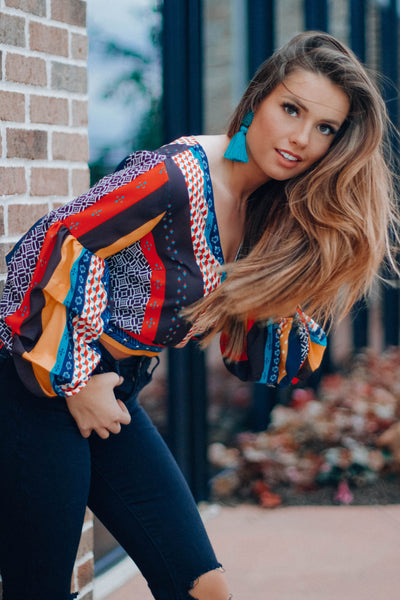 FLASH SALE:Fiesta Wrap Top