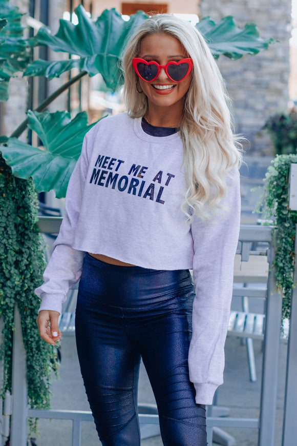 Meet Me At Memorial Crewneck