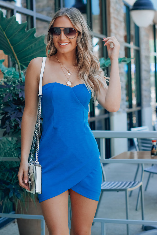 Mia Strapless Dress
