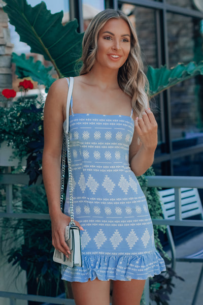 Lennon Aztec Dress