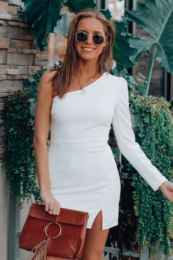 Simple One Shoulder Dress