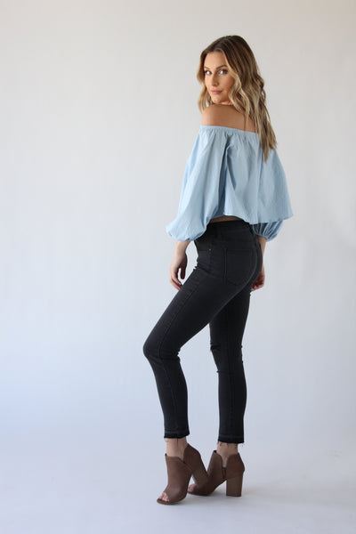 Cloud Off The Shoulder Top