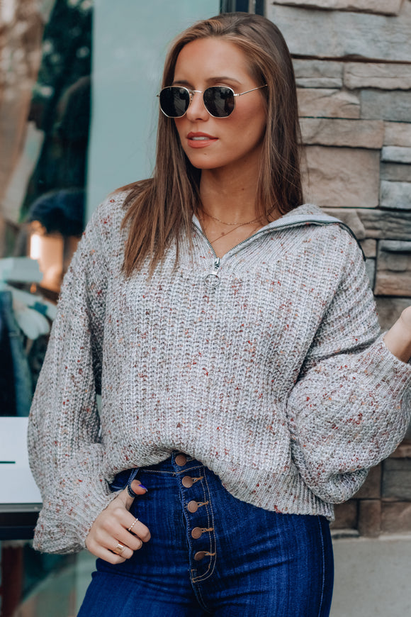 Chandler Zip Up Sweater