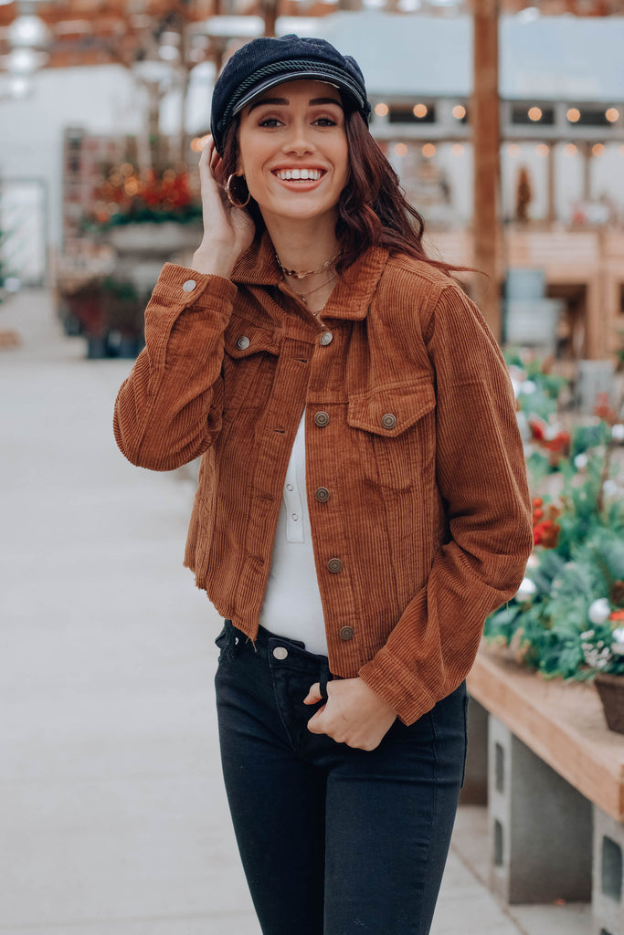 Landon Crop Jacket