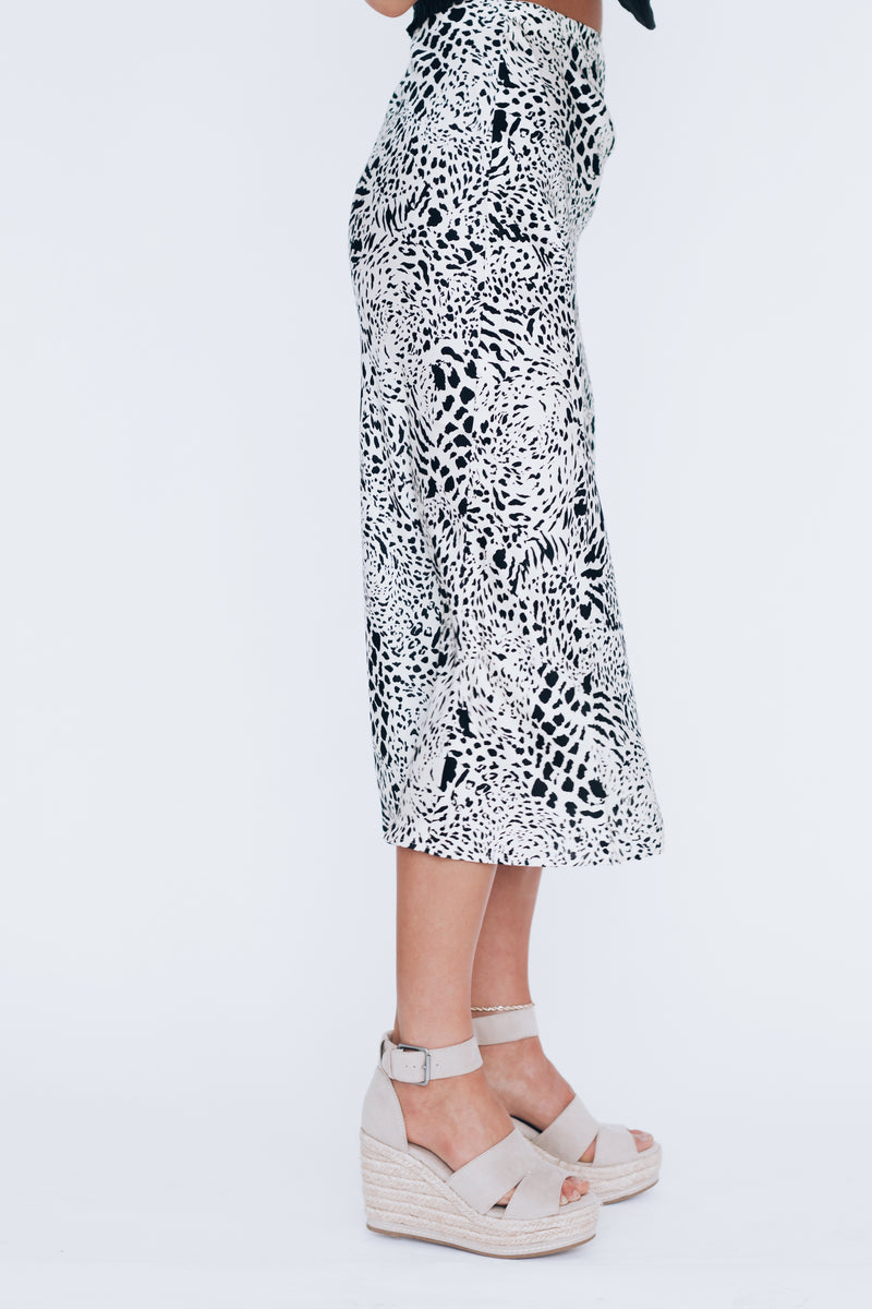 Life In The Wild Midi Skirt