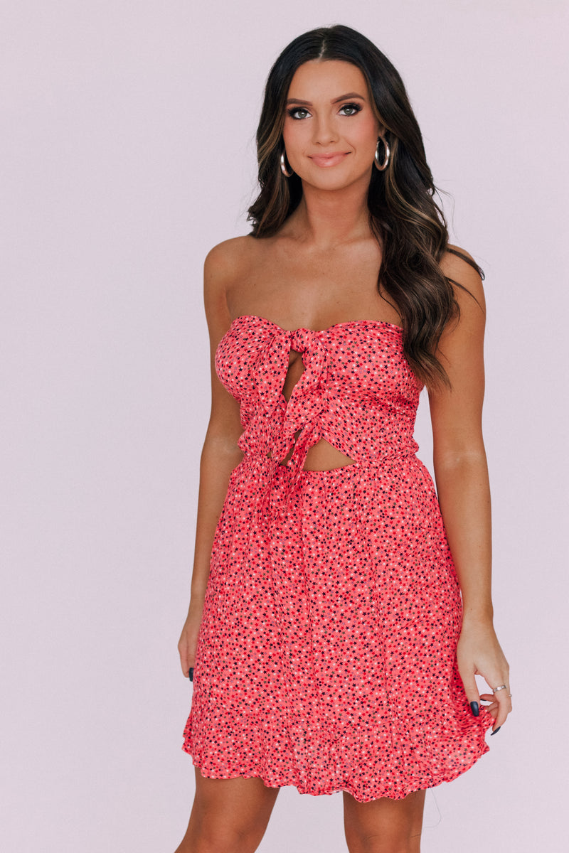 RESTOCKED:Star Flowy Dress