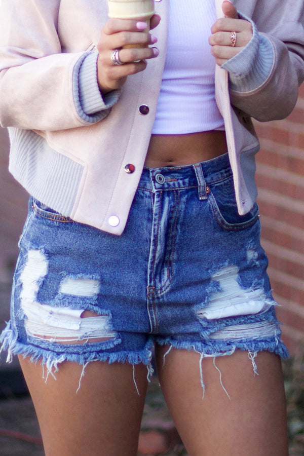 RESTOCKED: Bree Denim Shorts