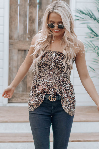 RESTOCK: Malika Cheetah Top