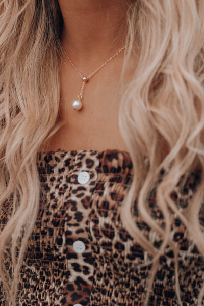 Talia Pearl Necklace