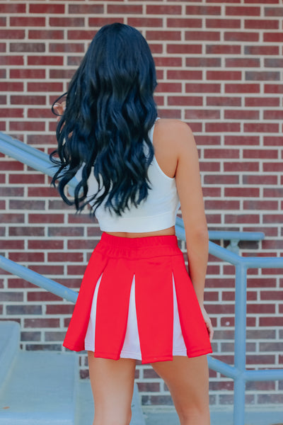 Nebraska Girl Cheer Skirt