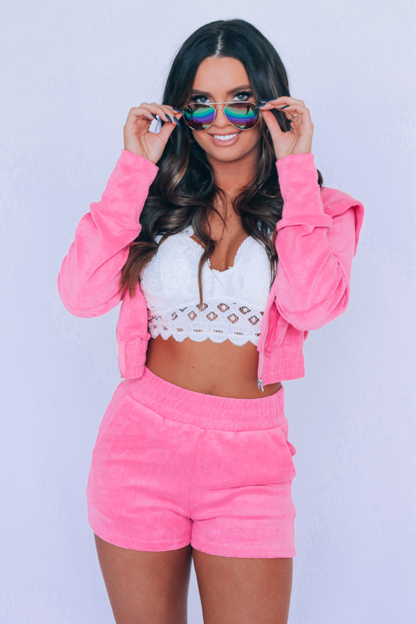 RESTOCKED:Hot Pink 2000's Girl Set