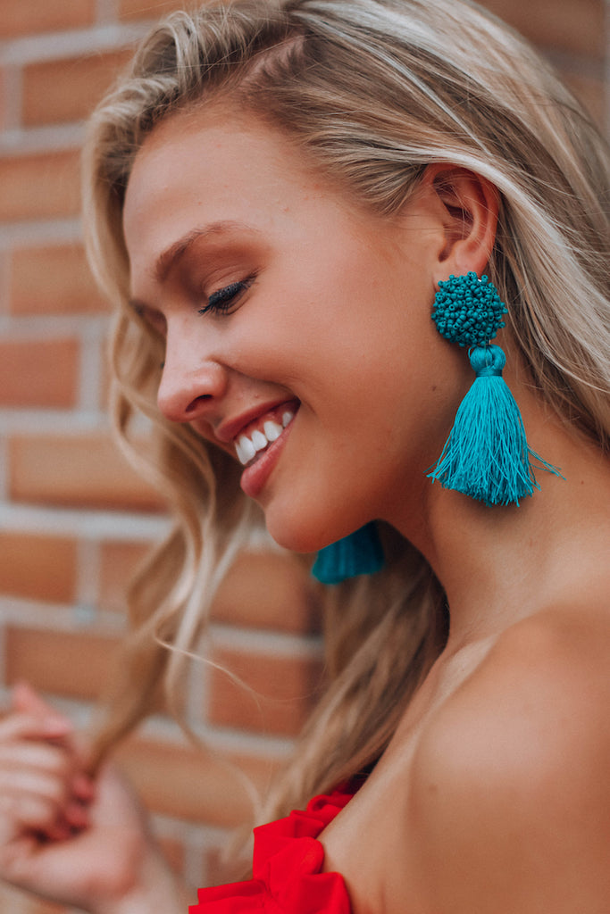 Belize Tassel Earrings