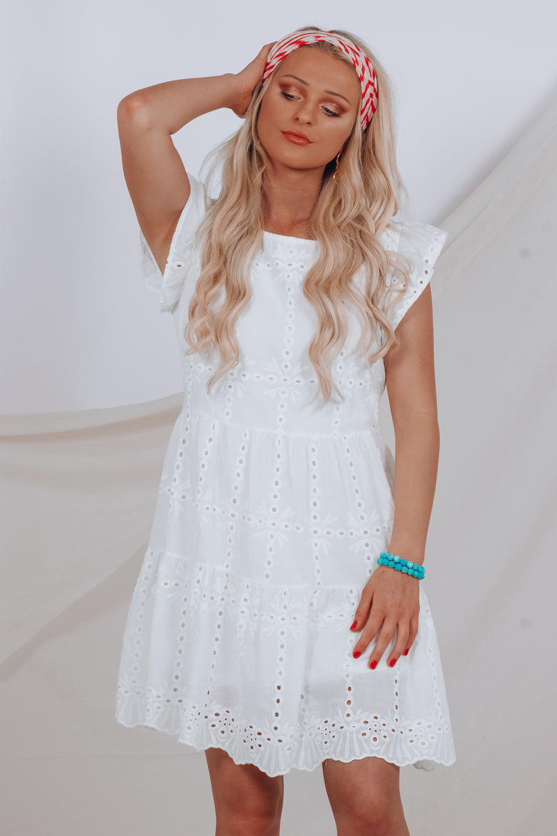 FLASH SALE: Zaylee Woven Dress