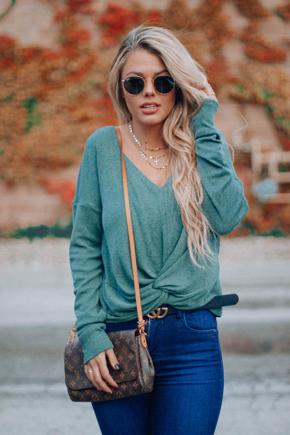 Olive Elliott Knot Top