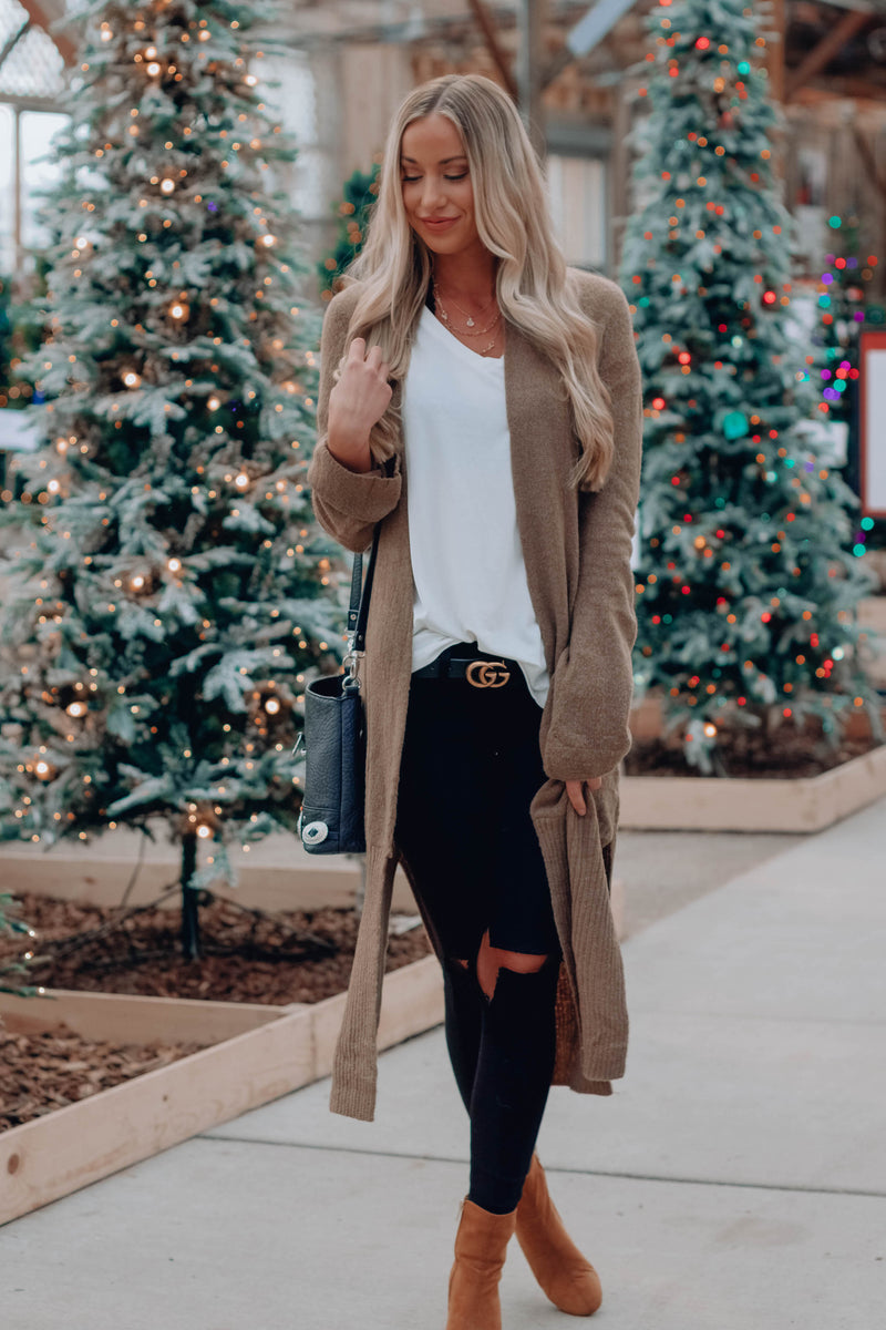 Distressed Cardigan