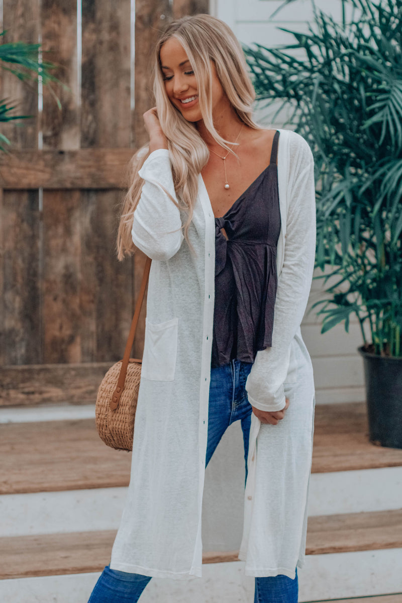 Perfectly Imperfect Cardi