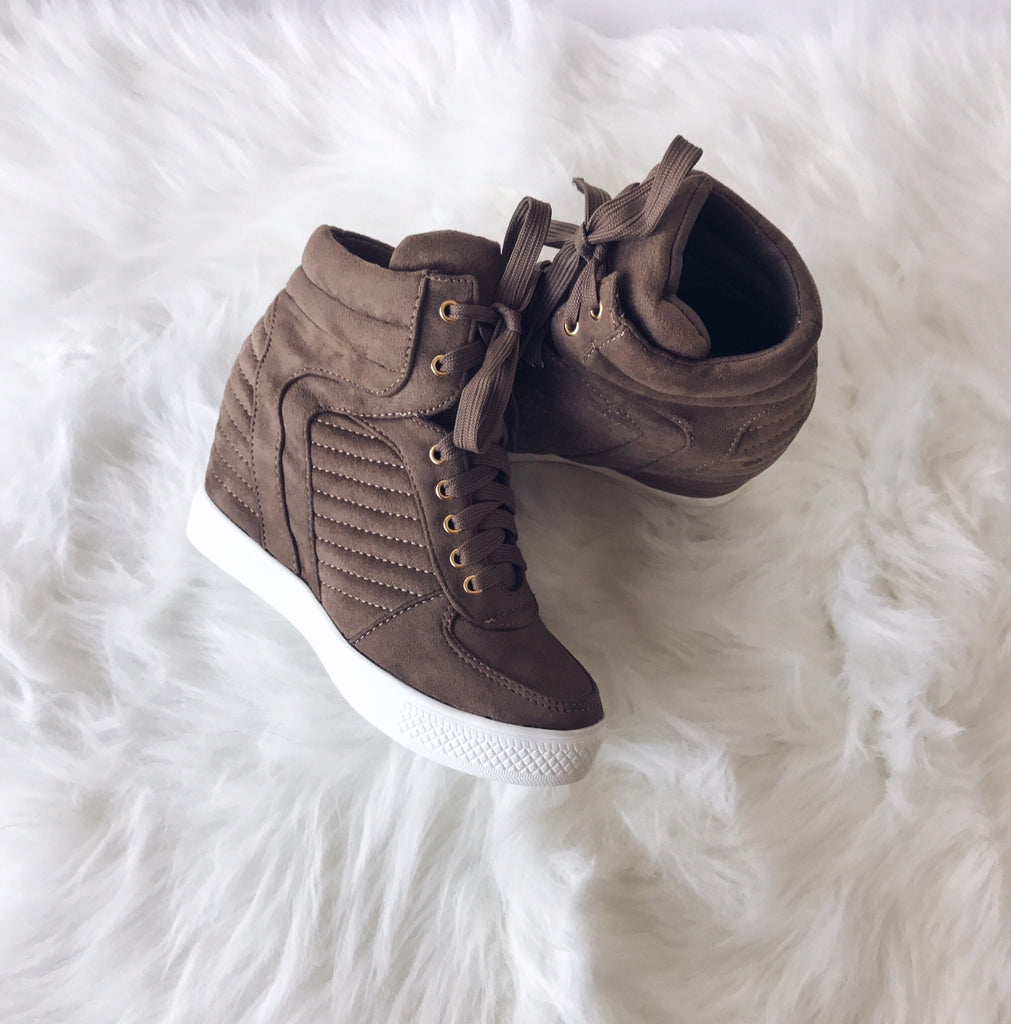 Sandy Sneaker Wedge