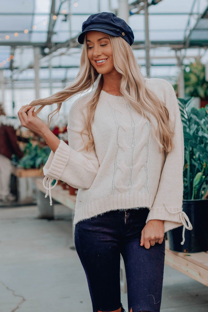 Essie Crop Sweater