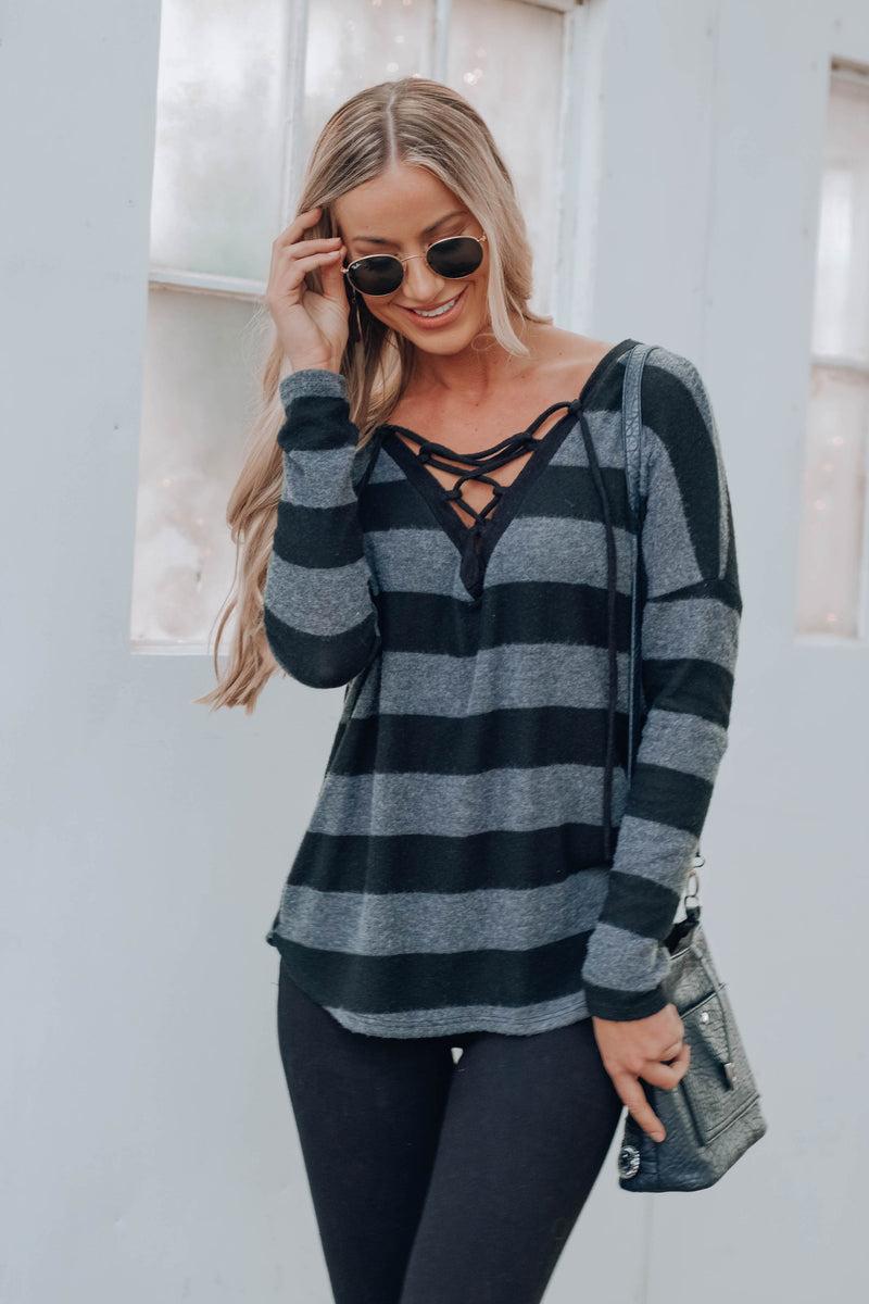 Bryon Striped Top
