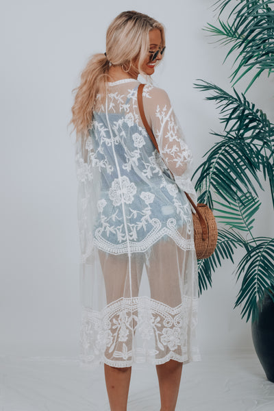 Kissed By The Sun Kimono