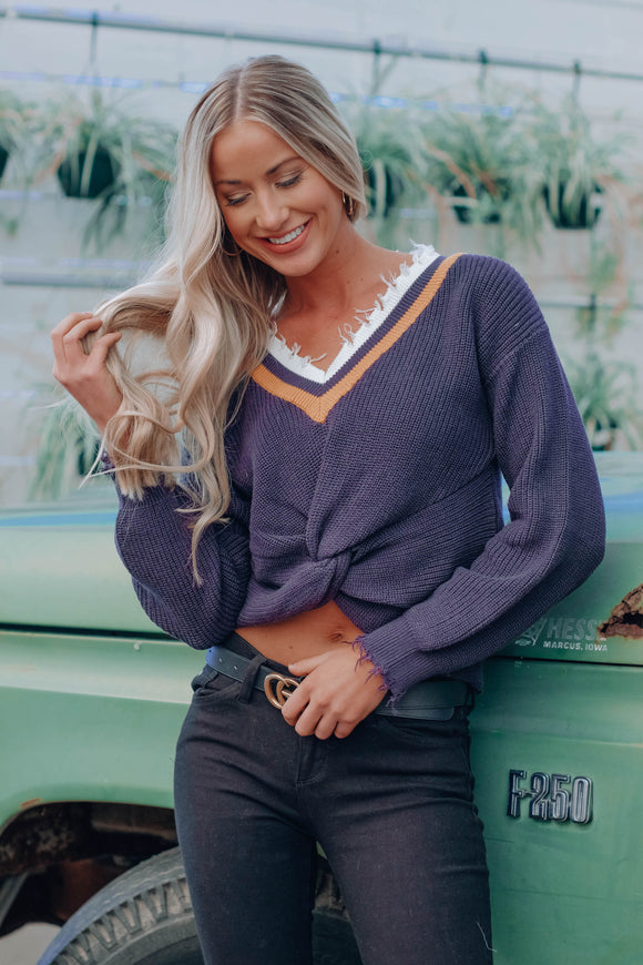 Graelyn Knot Sweater