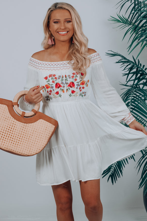 Annalese Embroidered Dress
