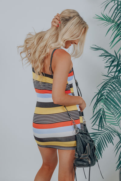 Call Me Later Stripe Dress