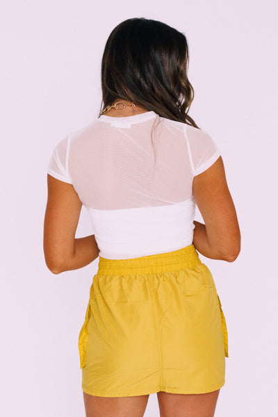 Kylie Pocket Skirt