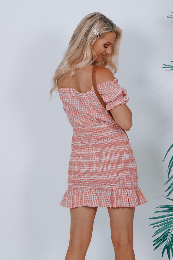 Perfect Picnic Scrunch Dress