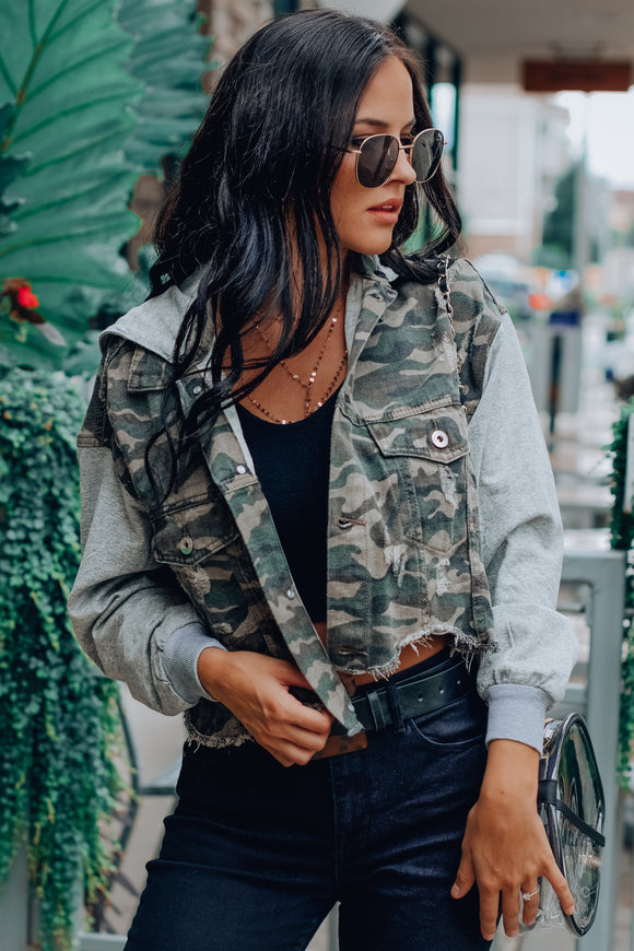 I Need A Soldier Camo Jacket