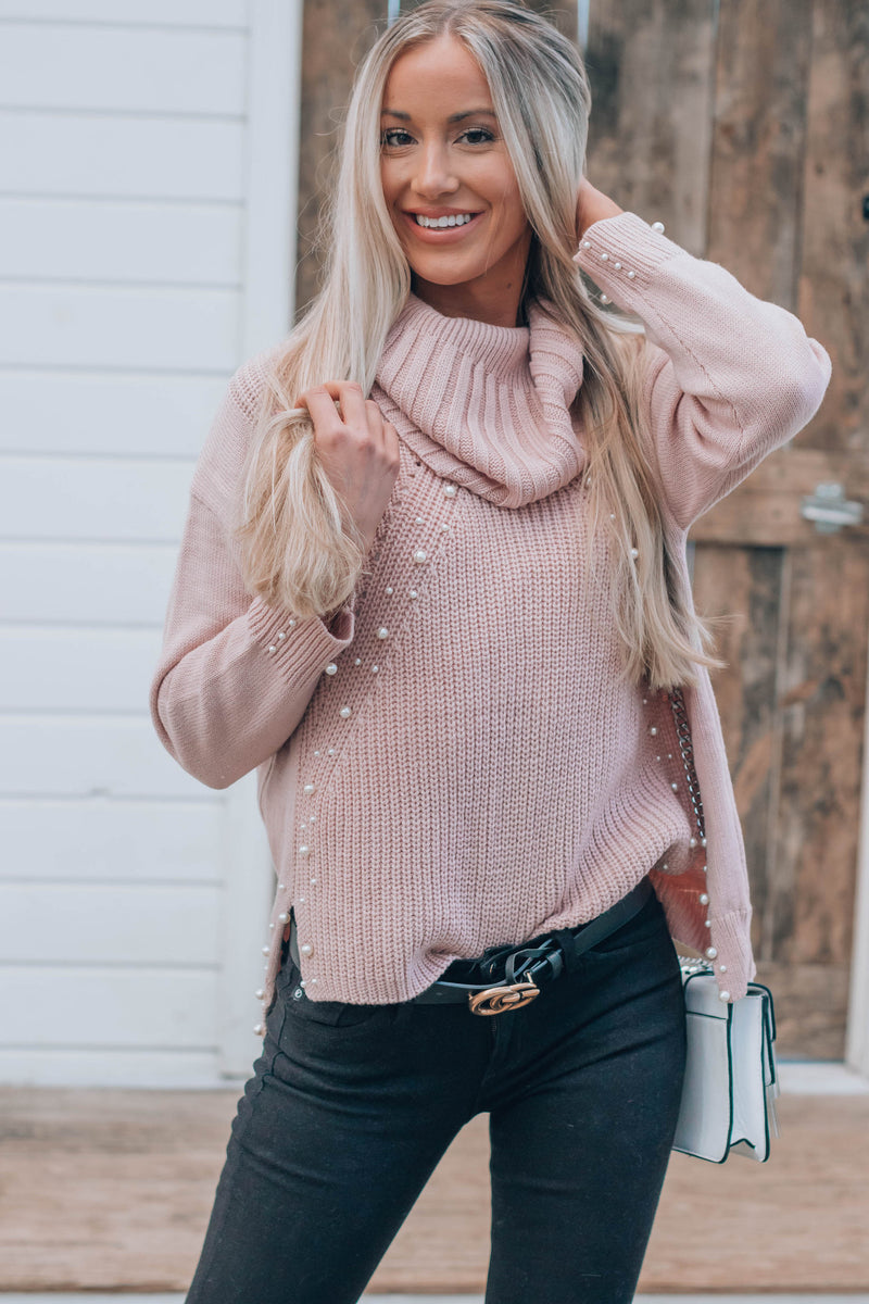 Penny Pearl Turtleneck