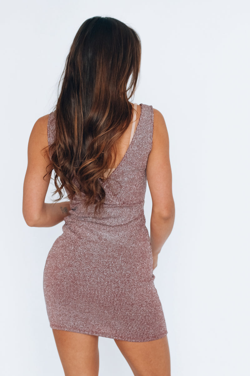 RESTOCKED: Festive Sparkle Dress