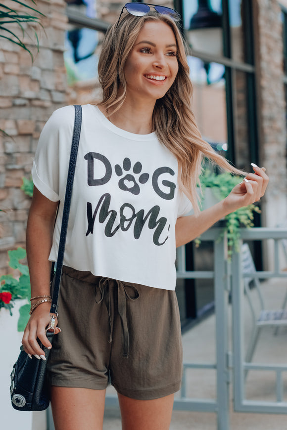 I'm A Cool Dog Mom Crop