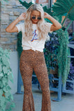 Cheetah Girl Bell Bottoms