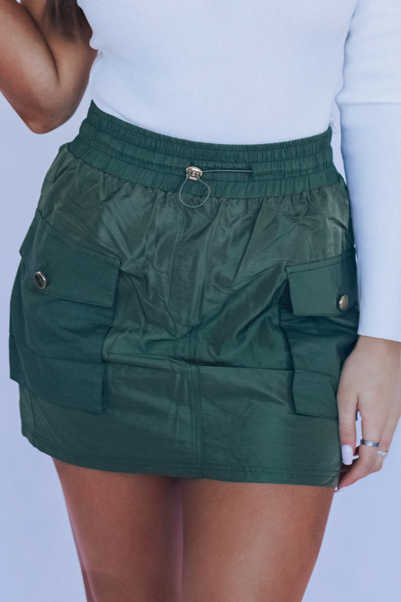 Olive Kylie Pocket Skirt