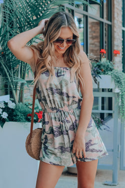 Girly Camo OTS Romper