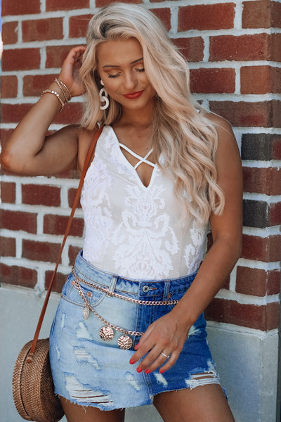 Lilly Lacey Bodysuit