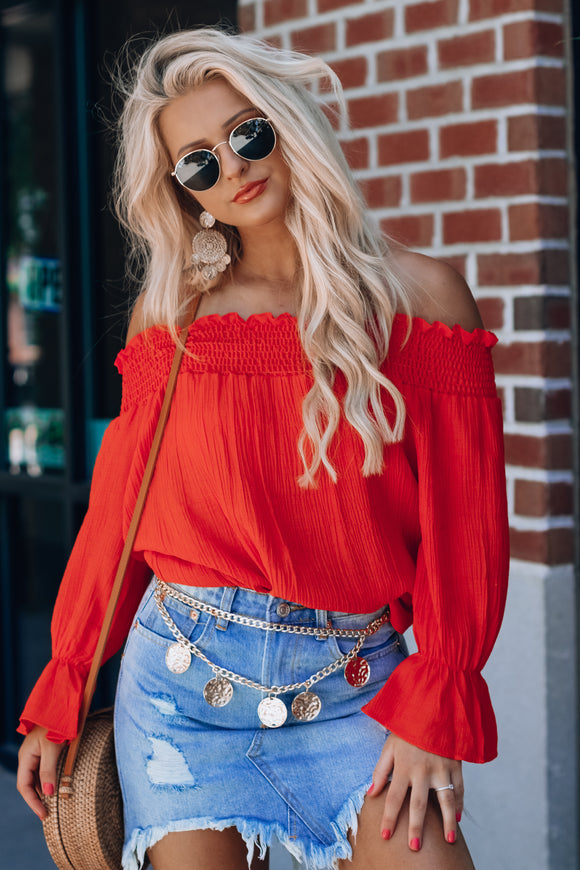 Melody Off the Shoulder Top