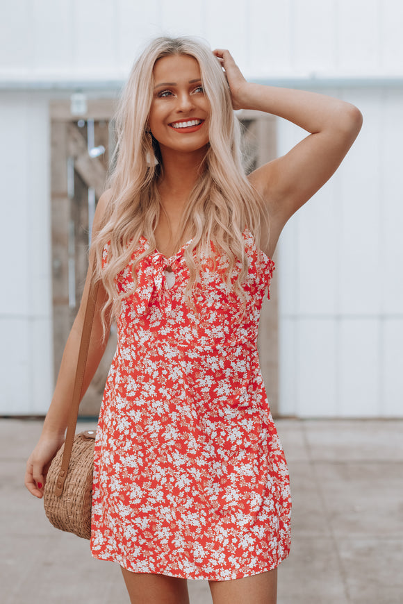 Forever & Always Floral Dress