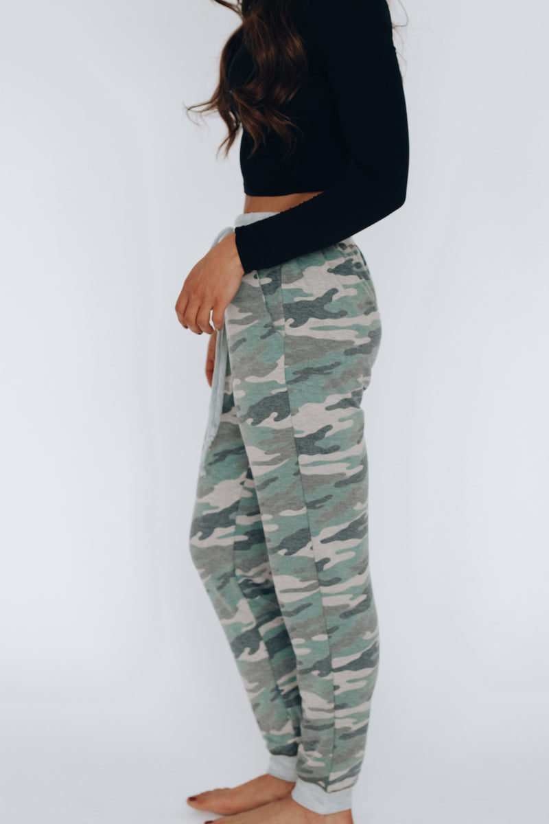 Lounge Around Camo Joggers