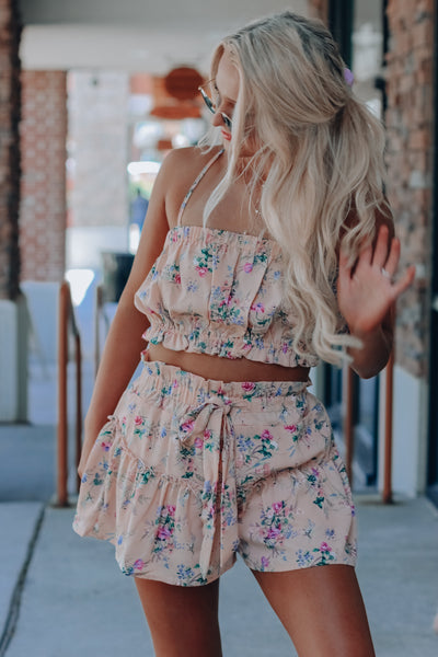 Blush Kennidy Floral Set