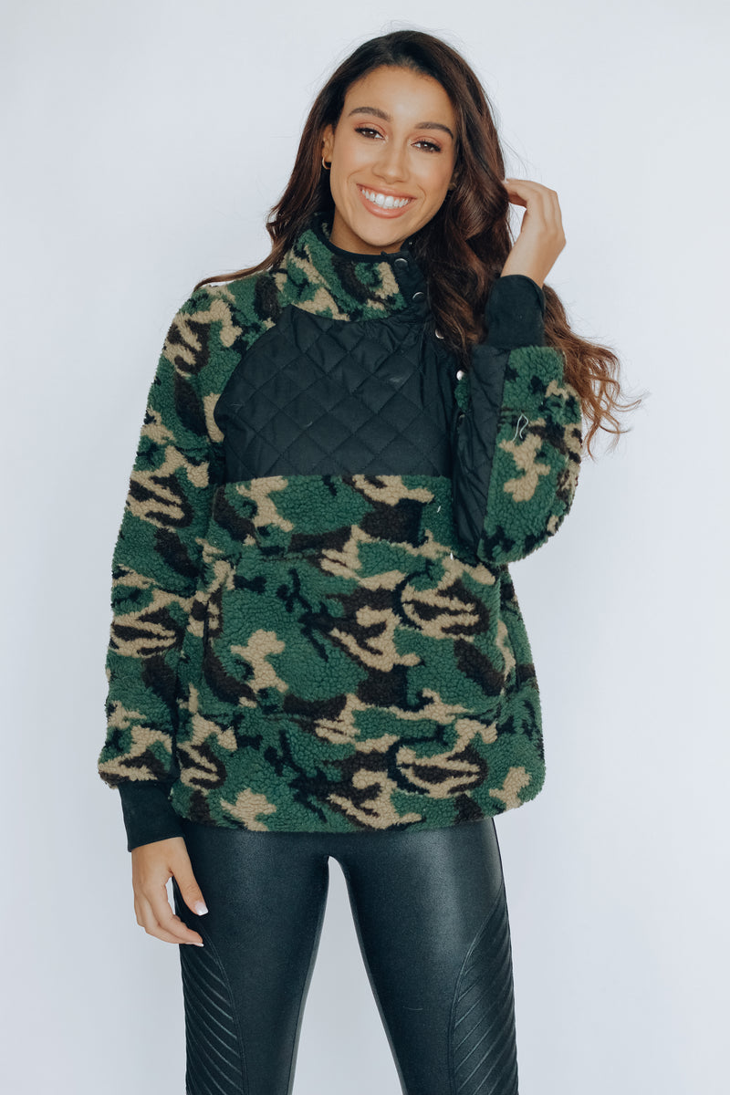 Remy Sherling Camo Pullover