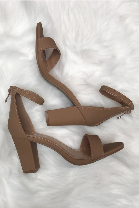 Simply Stated Nude Heel