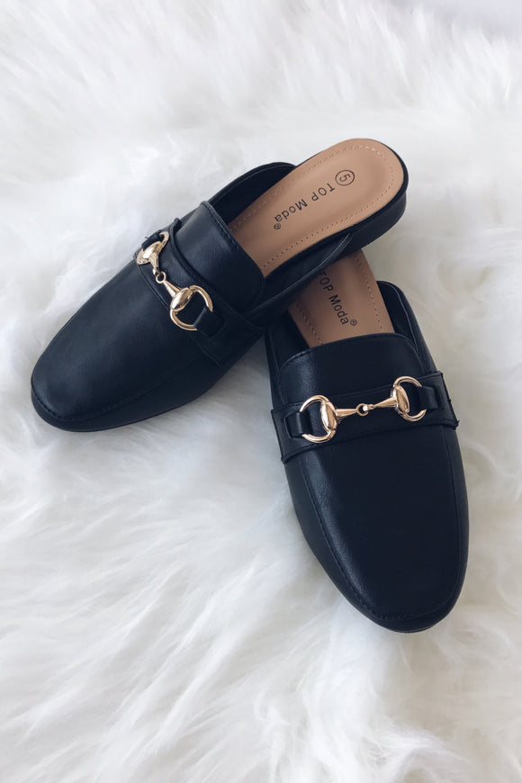 Gold Buckle Slides